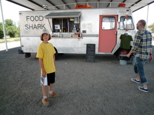 A land shark in Marfa, Texas.
