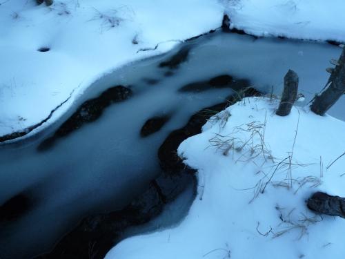 turning to ice