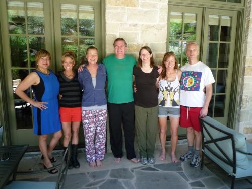 Diana, Laura, Linnea, John, Rosalie, Bink and Daniel