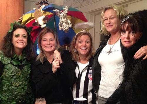Careyanne Davis, Diane Daniels Legg, Laurie Benson Irwin, Linnea Duff, Heather A King