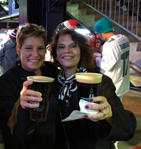 Diane Legg and Hildy Grossman: two super advocates!