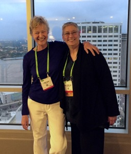 My friend Janet Freeman-Daily in New Orleans for the AACR SSP program