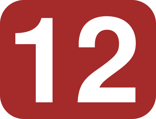 brown-white-number-rounded-twelve-rectangle-12